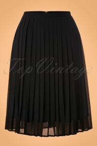 Dolly en Dotty Black Swing Skirt 122 10 22975 13122017 004W