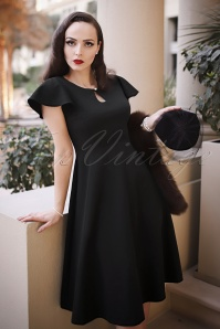 Vintage Diva The Cherié Dress in Black 24435 20170127 0015cw