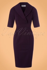 Venus van Chic Purple Pencil Dress 23424 20171218 0001W