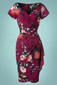 Lady V Elsie Alfresco Floral Dress 24151 20171218 0001W