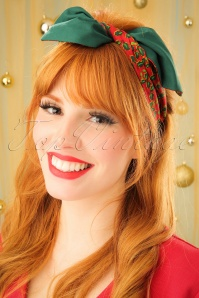 Be Bop A Hairbands Holy Leaves Red Green 208 27 23951 model05W