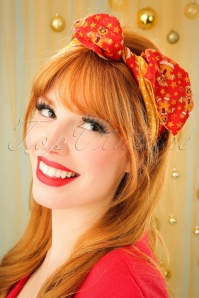 Be Bop A Hairband Gingerbread Man Red 208 27 23952 model04W