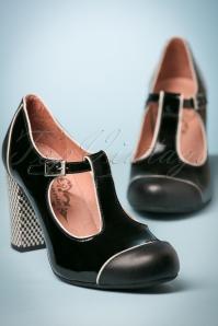 Nemonic Black T Strap Shoes 401 10 23575 20171219 0032w