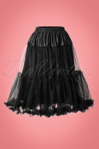 50s Polly Petticoat in Black