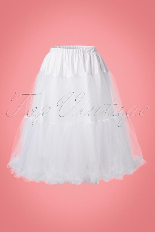 Bunny Polly Petticoat in White 24119 20171219 0001W