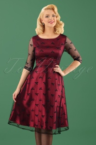 Dolly en Dotty Red Lace Dress 102 27 22978 13122017 1W