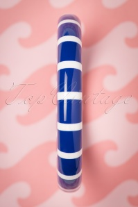 The Pink Bungaloo Blue and White Striped Bangle 310 39 23885 20171220 0003w