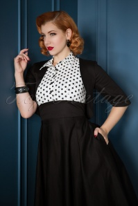 Dolly and Dotty Black and White Swing Dress 102 14 22959 20171128 0015WMVV2w