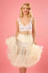 Bunny 50s retro Petticoat chiffon ivory 10986 4W