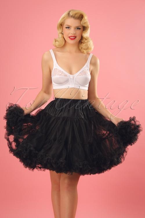 Bunny Petticoat Short Black 124 10 15735 20150504 1W
