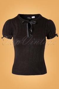 40s Loraine Jumper in Black