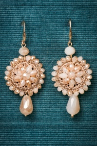 Celestine Creme Long Earrings 333 59 24393 20171222 0003w
