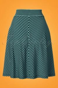 King Louie Sofia Skirt in Blue 23107 20180105 0006w