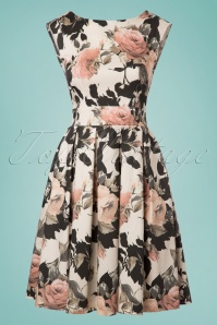 Closet London Floral Dress with Bow 102 59 24454 20180108 0002W