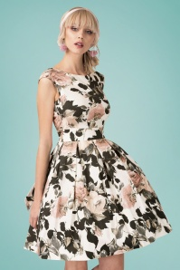 Closet London Floral Dress with Bow 102 59 24454 20180108 01