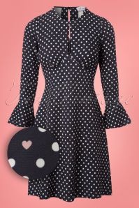 Closet London Split Neck Polkadots and Hearts Dress 106 39 24452 20180109 0006W1