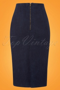 Danefae Zia Skirt in Denim 120 30 23521 20180115 0007w