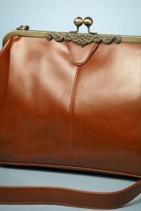 Kaytie Cognac Vintage Handbag 212 70 24607 0029