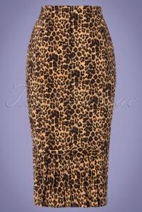 Vixen Izzy Leopard Pencil Skirt 120 79 23225 20180118 0005w