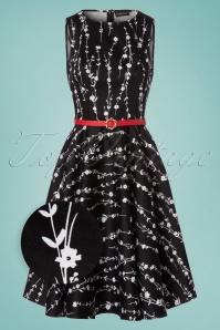 Vixen Mariam Black Floral Dress 102 14 23220 20180118 0001wv