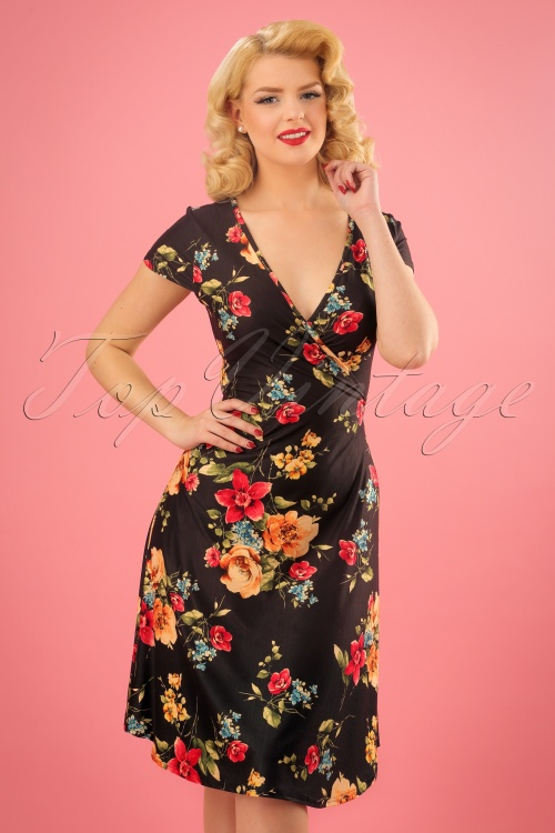 Vixen Sophia Floral Wrap Dress 106 14 23203 20180118 0006w