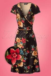Vixen Sophia Floral Wrap Dress 106 14 23203 20180118 0002wv