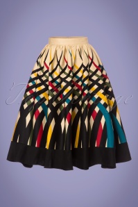 Vixen Emma Border Swing Skirt 122 57 23224 20180119 0003W