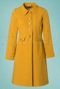 King Louie Luisa Coat in Mustard Yellow 23080 20171221 0003W