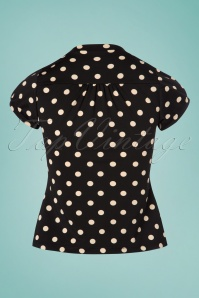King Louie Polkadot Bow Blouse 112 14 23097 20180122 0007W