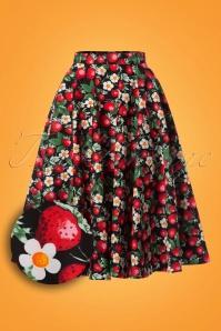 Bunny Strawberry Swing Skirt 122 14 24084 20180123 0015W1