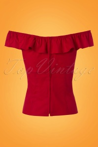 Bunny Rio Top in Red 110 20 24116 20180116 0009W