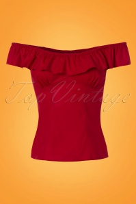 Bunny Rio Top in Red 110 20 24116 20180116 0004W