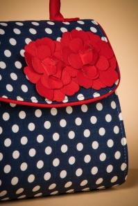 Ruby Shoo Santiago Navy Red Handbag 212 39 22718 22012018 004