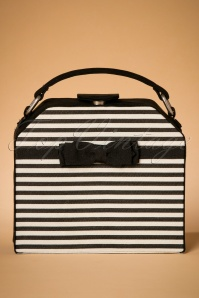 60s Tampa Handbag in Black and White