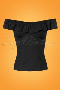 Bunny Rio Top in Black 110 20 24114 20180116 0004W