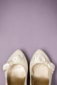 Ruby Shoo Susanna Pumps Cream 400 51 22712 17012018 011