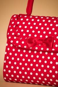 Ruby Shoo Santiago Red Handbag 212 27 22715 22012018 006