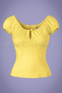 Bunny Melissa Yellow Top 110 20 21106 20160121 0007W
