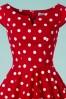 Bunny Nicky 50's Red Polkadot Dress 102 27 24030 20180123 0013c