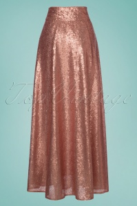 Vintage chic Boogie Maxi Sequin Pink Skirt 129 22 23601 20180124 0008W