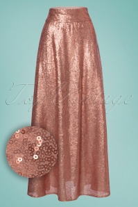 Vintage chic Boogie Maxi Sequin Pink Skirt 129 22 23601 20180124 0002W1