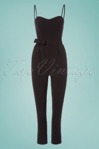 Traffic People Jessica Black Strapless Jumpsuit 133 10 23603 20180124 0003W
