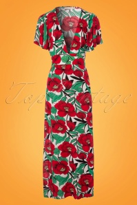 Traffic People Long Flower Maxi Dress 108 49 23608 20180124 0003W