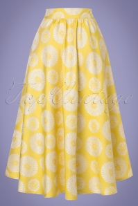 Traffic People Prom Sparkling Yellow Skirt 122 89 23609 20180124 0012w