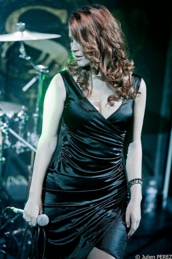 greta dress black Charlotte Wessels