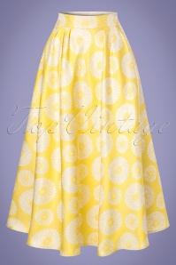 Traffic People Prom Sparkling Yellow Skirt 122 89 23609 20180124 0006w