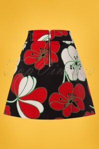 Traffic People 60s Floral Mini Skirt  123 14 23606 20180124 0005w
