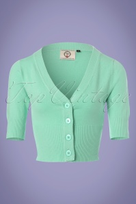 50s Overload Cardigan in Mint