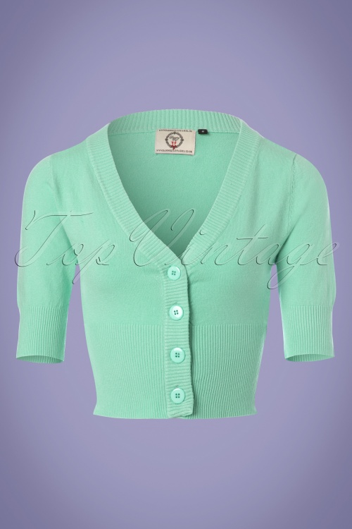 Dancing Days by Banned Overload Cardigan in Mint 140 30 24293 20180125 0004W