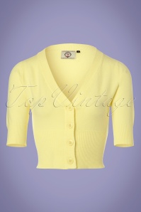 Dancing Days by Banned Overload Cardigan in Yellow 140 80 24291 20180125 0002W